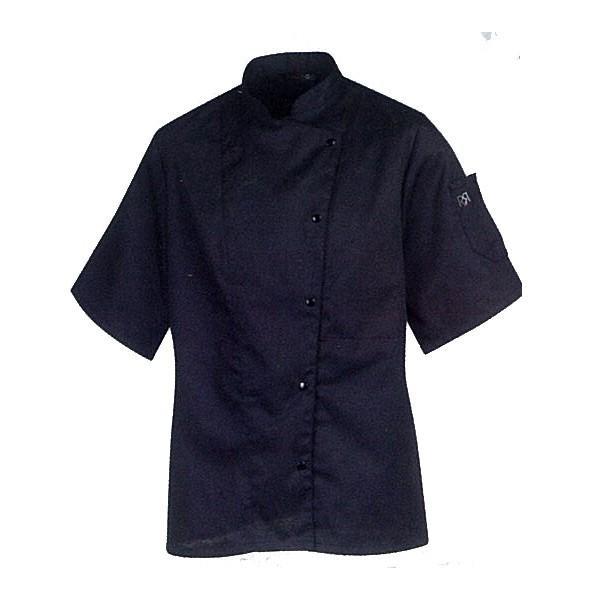 Haut de travail noir tous les fournisseurs de haut de travail noir sont sur - Veste cuisine femme manche courte ...