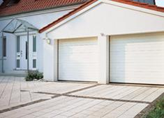 Portes de garage sectionnelles gamme quotharmonicquot for Porte de garage harmonic
