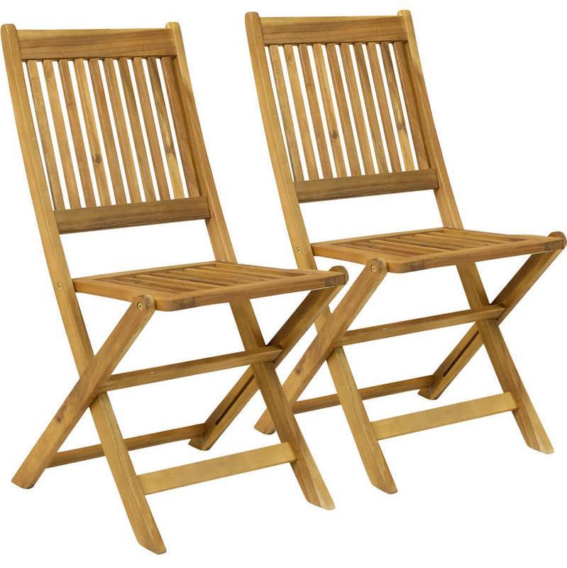 Bentley lot de 2 chaises pliables pour jardin patio for Chaises pliables
