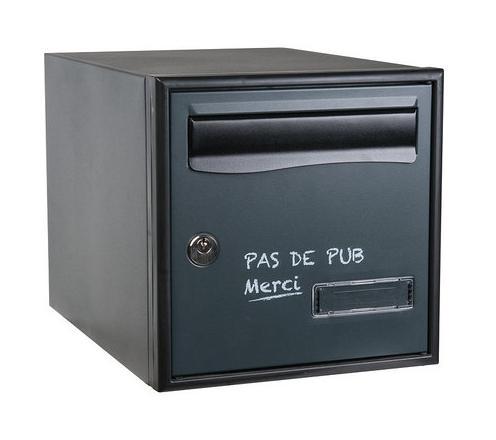 Boite aux lettres collective decayeux achat vente de - Boite aux lettres 2 portes gris anthracite ...