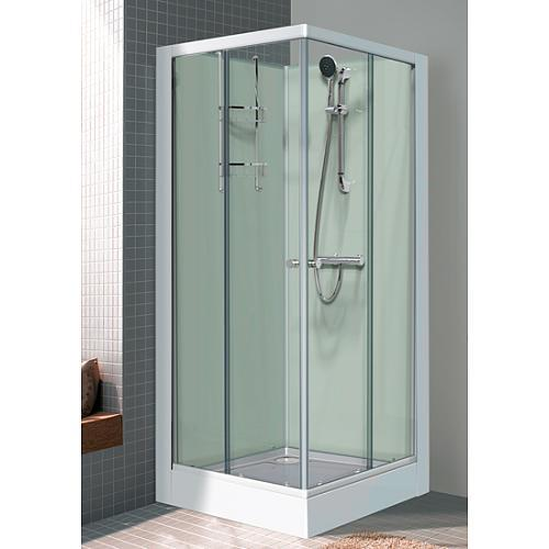 Cabine de douche comparez les prix pour professionnels - Cabine de douche rectangulaire 110 x 80 ...