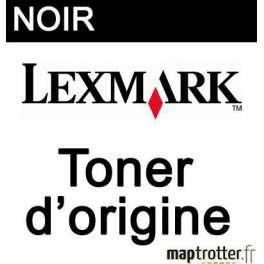 LEXMARK - 74C2SK0 - TONER NOIR - PRODUIT D'ORIGINE - 7000 PAGES