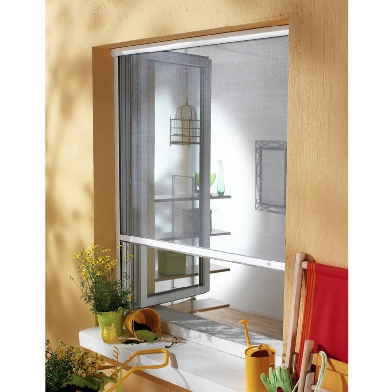 moustiquaire new idea verticale blanche nid140250av26 amb france comparer les. Black Bedroom Furniture Sets. Home Design Ideas