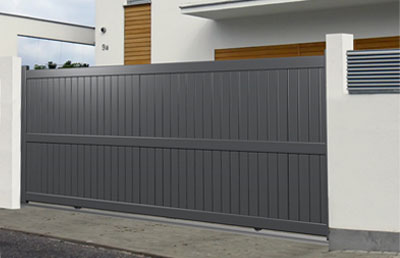 Portail Coulissant Aluminium Widewille