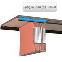 rails l 39 oblique pour dossiers suspendus. Black Bedroom Furniture Sets. Home Design Ideas