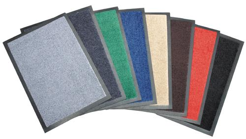 TAPIS DE SOL - PAILLASSON ANTI SALISSURE - 60X90CM - 12 COULEURS DISPONIBLES