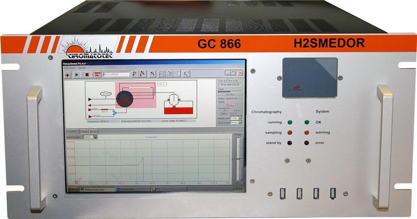 Analyseur du sulfure d'hydrogene - h2smedor