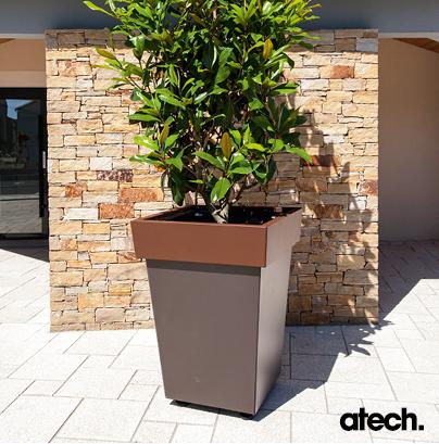 atech produits bacs a fleurs et jardinieres. Black Bedroom Furniture Sets. Home Design Ideas