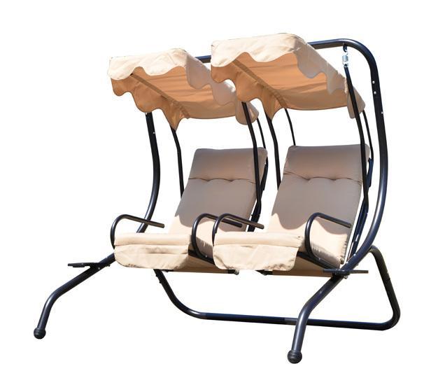 balancelle homcom achat vente de balancelle homcom comparez les prix sur. Black Bedroom Furniture Sets. Home Design Ideas