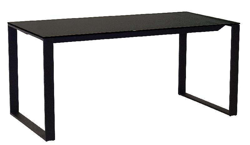 bureau verre noir bureau plateau verre noir oskar achat vente bureau bureau plateau verre noir. Black Bedroom Furniture Sets. Home Design Ideas