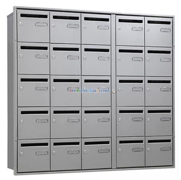 Boites aux lettres multiples exterieurs compact loft aefca2f4f558