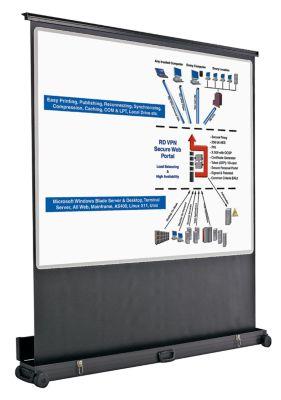 ecran de projection mobile format cran 4 3 dim cran l x h 1750 x 1250 mm comparer les prix. Black Bedroom Furniture Sets. Home Design Ideas