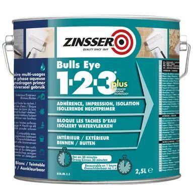 Primaire d'adhérence zinsser® bulls eye 1-2-3 plus