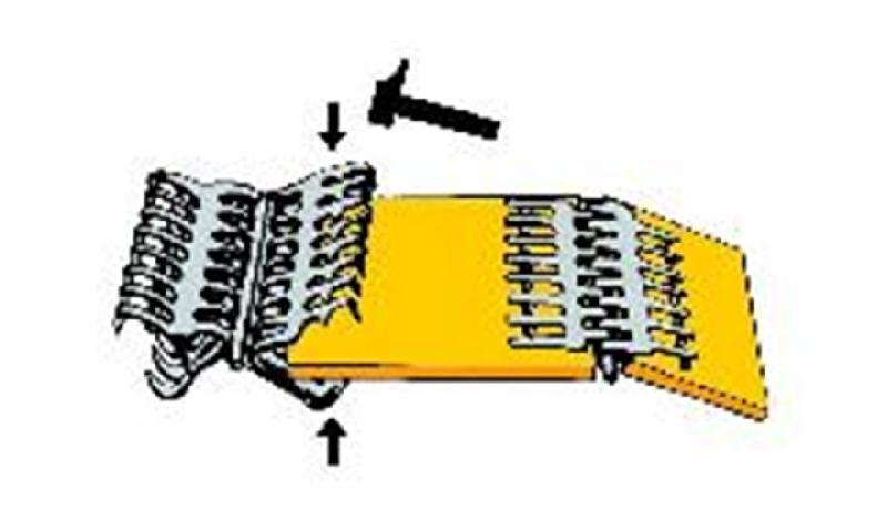 Agrafes pour usage mécanique