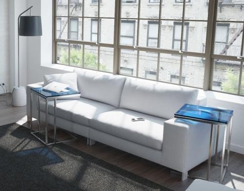 bout de canape alicia. Black Bedroom Furniture Sets. Home Design Ideas