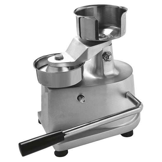 Presse hamburger manuelle, diametre 130 mm - 7401a