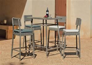 Tables de jardins tous les fournisseurs table de - Table haute resine tressee ...