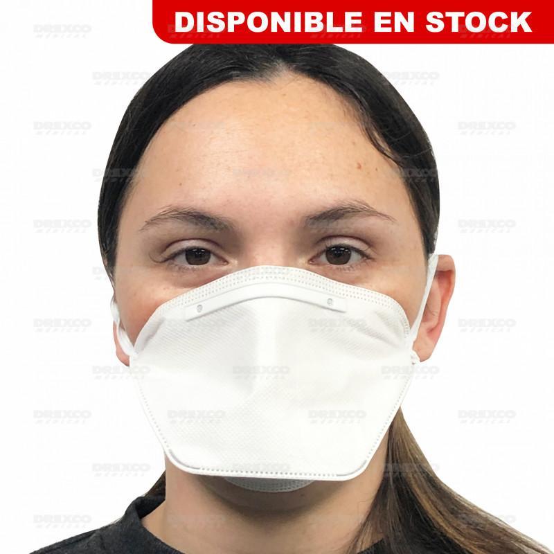 Masque ffp2 bec de canard - boite de 20 - lot de 10 -
