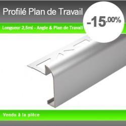 Profil plan de travail anodis 47mm comparer les prix de profil plan de tra - Prix pose plan de travail ...