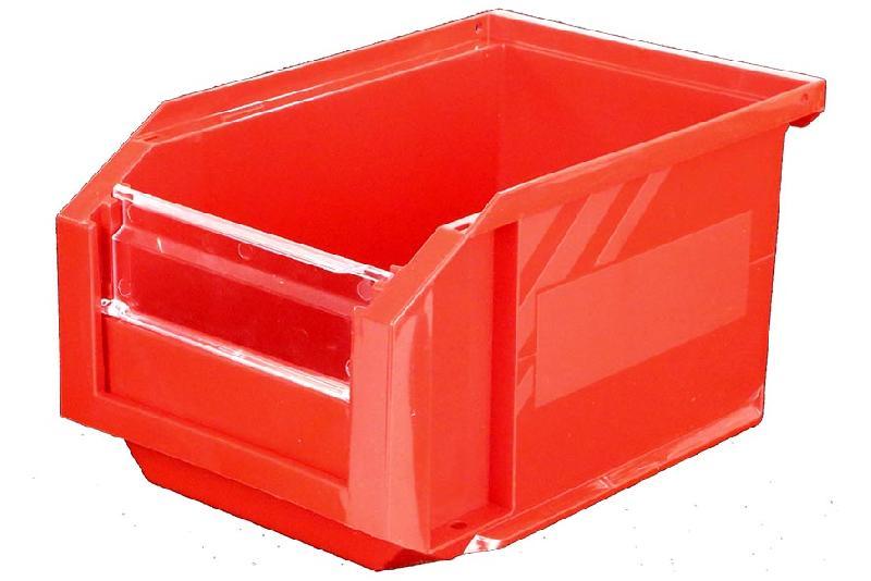 Bac Européan 3L Rouge avec Volet Abattant - 5045053