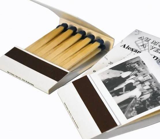 Briquets et boites d 39 allumettes publicitaires tous les - Petite boite allumette a personnaliser ...
