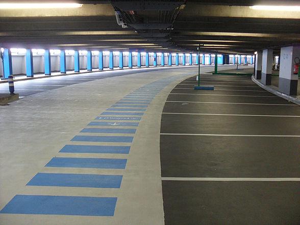 Sol résine pour parking - revêtement de sol methylmethacrylate