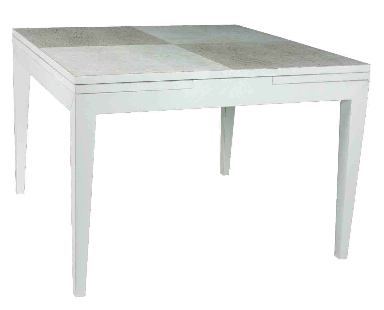 Tropical trading produits table a manger Table a manger carre extensible