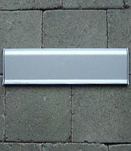 clapet en alumininium petit pour boites aux lettres encastree en alumininium. Black Bedroom Furniture Sets. Home Design Ideas