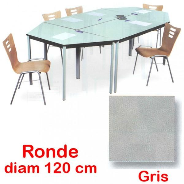 table de reunion ronde. Black Bedroom Furniture Sets. Home Design Ideas