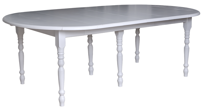 Table salle manger ronde rabat pin massif l110 230 cm for Salle manger table ronde 100 cm