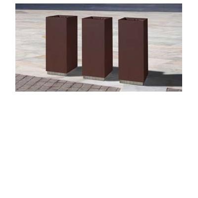 poubelle publique metal dic d. Black Bedroom Furniture Sets. Home Design Ideas