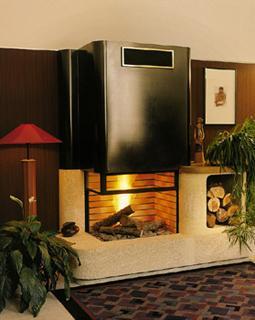 foyer pour cheminee plein feu 70 d 39 angle droit. Black Bedroom Furniture Sets. Home Design Ideas