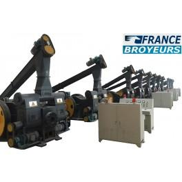 Machine a briquettes 2t/h