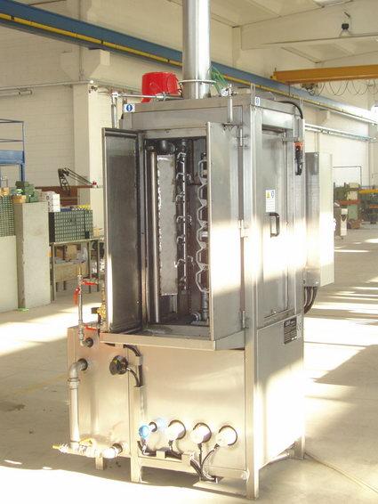 Machine à laver pièces preposionnées