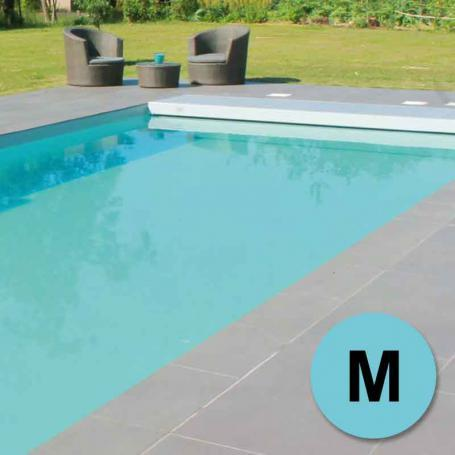 Kit piscine bloc qualite prix m 8x4m sable for Prix sable piscine
