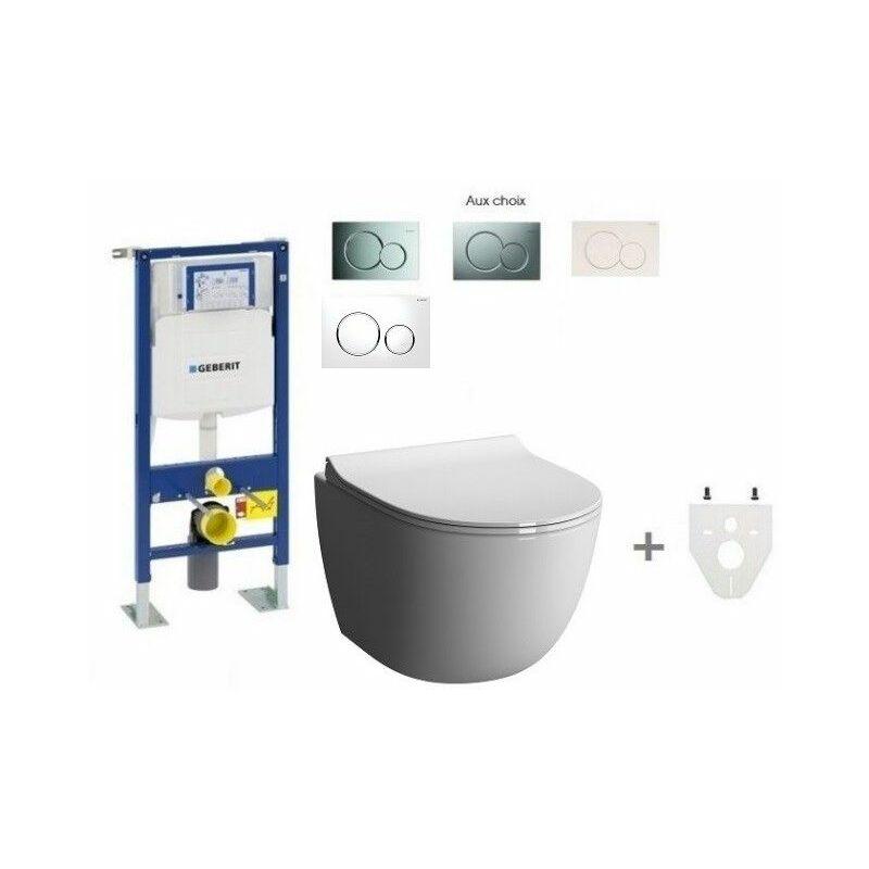 pack wc suspendu geberit sans bride mod le court sigma20 blanc chrom brillant comparer les. Black Bedroom Furniture Sets. Home Design Ideas
