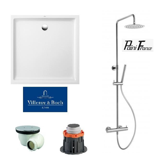 Colonne de douche en inox tous les fournisseurs de colonne de douche en ino - Receveur douche villeroy et boch ...