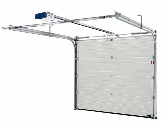Porte de garage sectionnelle 3000 mm - Monter une porte de garage sectionnelle ...