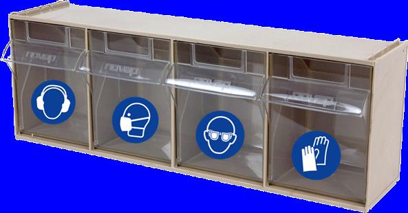 Boite de Rangement EPI 4 casiers - 5184219
