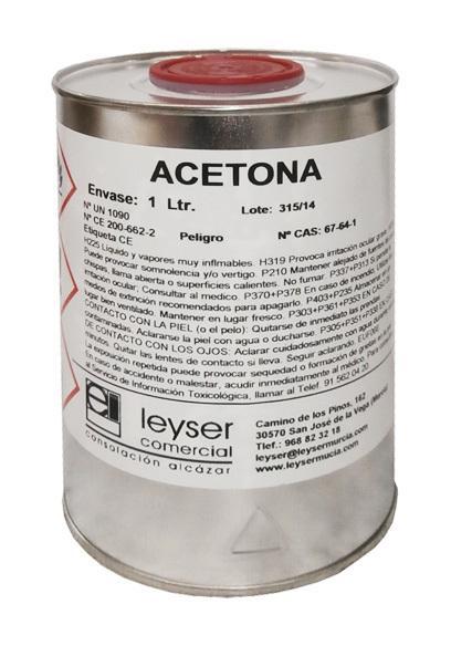 ACÉTONE (25 L) - LEYSER