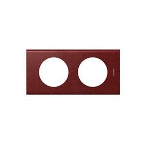 plaque corian pompeii red 2 postes legrand celiane entraxe 71mm comparer les prix de plaque. Black Bedroom Furniture Sets. Home Design Ideas