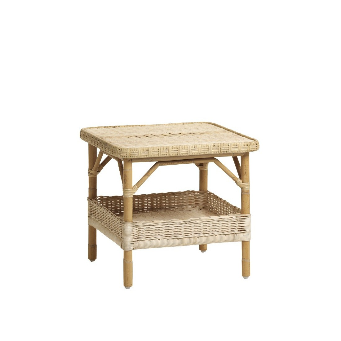 Table basse en rotin nantucket pm naturel for Table basse en rotin
