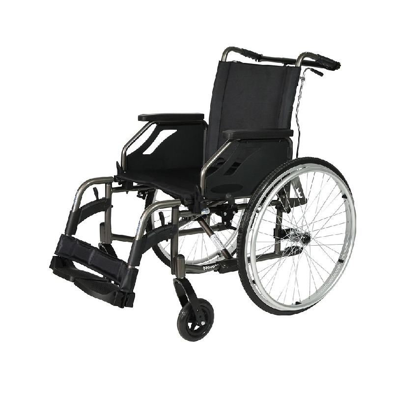 FAUTEUIL ROULANT NOVO TAILLE 45 À DOSSIER INCLINABLE