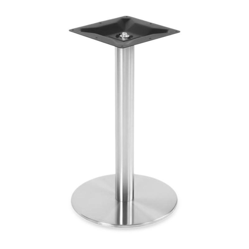 PIÈTEMENT DE TABLE ACIER - ROND - Ø 40 CM - H72CM PROFESSIONNEL