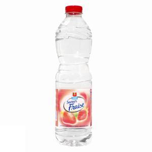 U eau de source aromatisée fraise 1,5 l