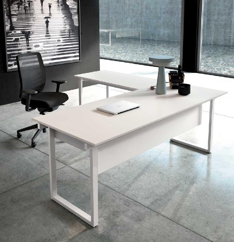 Bureau en l tous les fournisseurs bureau d 39 angle - Bureau d angle design blanc ...