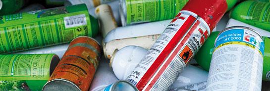 Recyclage de gaz comprimés et liquéfiés