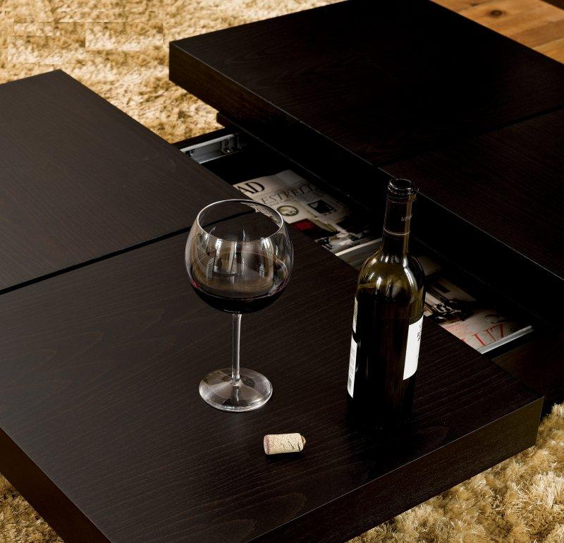 temahome kyoto table basse japonaise avec coffre en bois. Black Bedroom Furniture Sets. Home Design Ideas