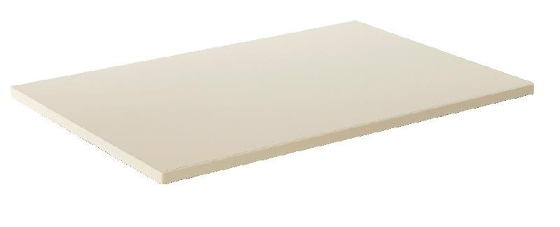 Plateau de table 70 x 50 cm surface melamine beige - Grand plateau de table ...