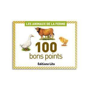 BOÎTE DE 100 BONS POINTS ANIMAUX DE LA FERME
